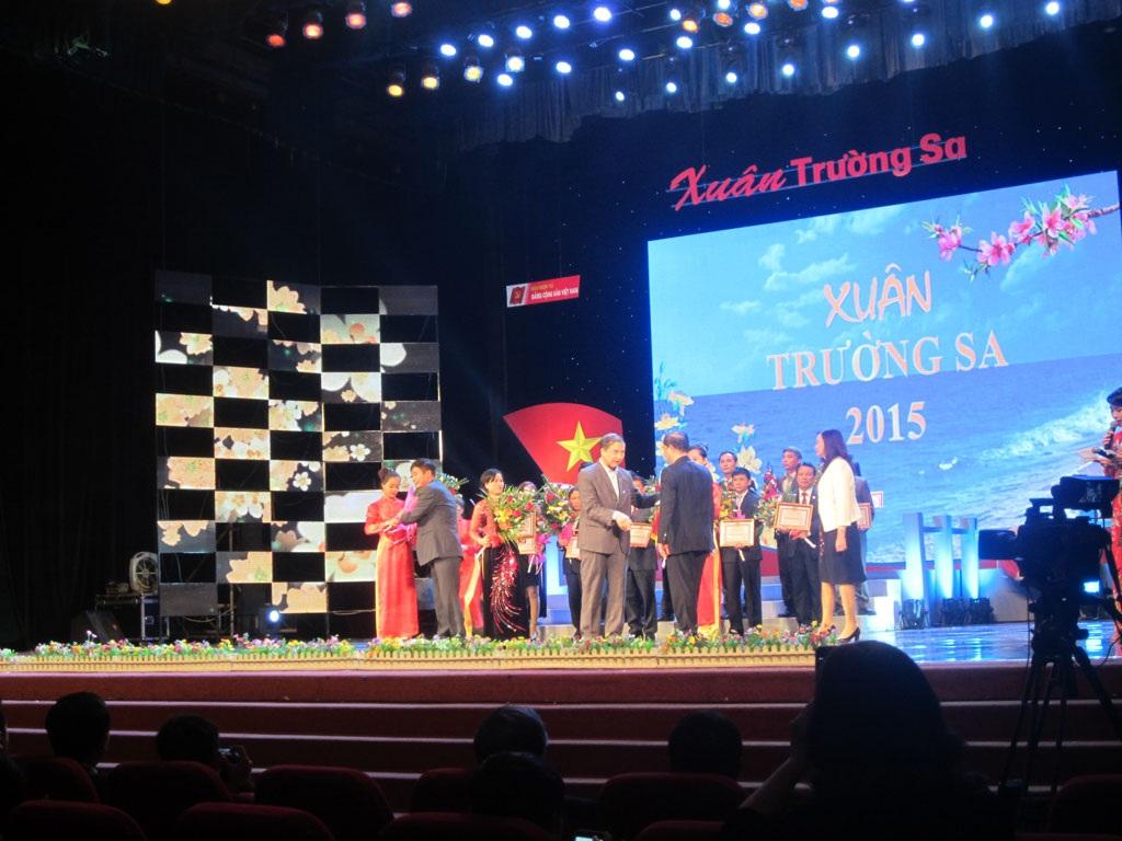 Một số hình ảnh tại chương trình diễn ra tối ngày 28/2 tại Hà Nội