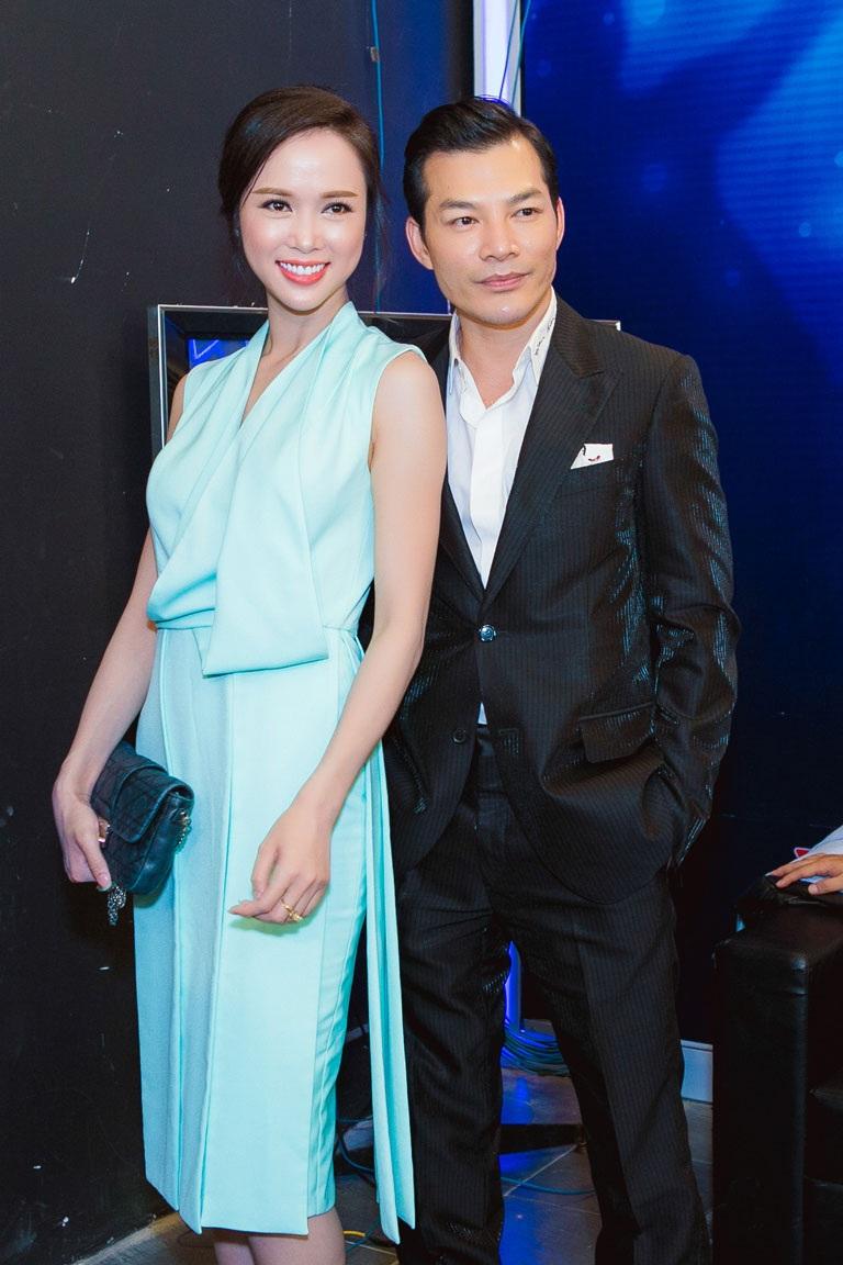 Đi xem Vietnam Idol còn có diễn viên Trần Bảo Sơn