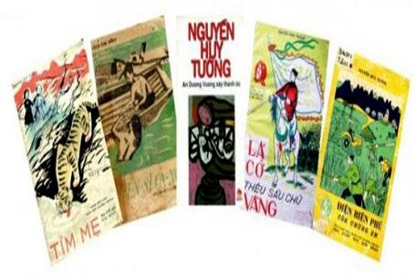 Một số tác phẩm của cố nhà văn được trưng bày tại triển lãm