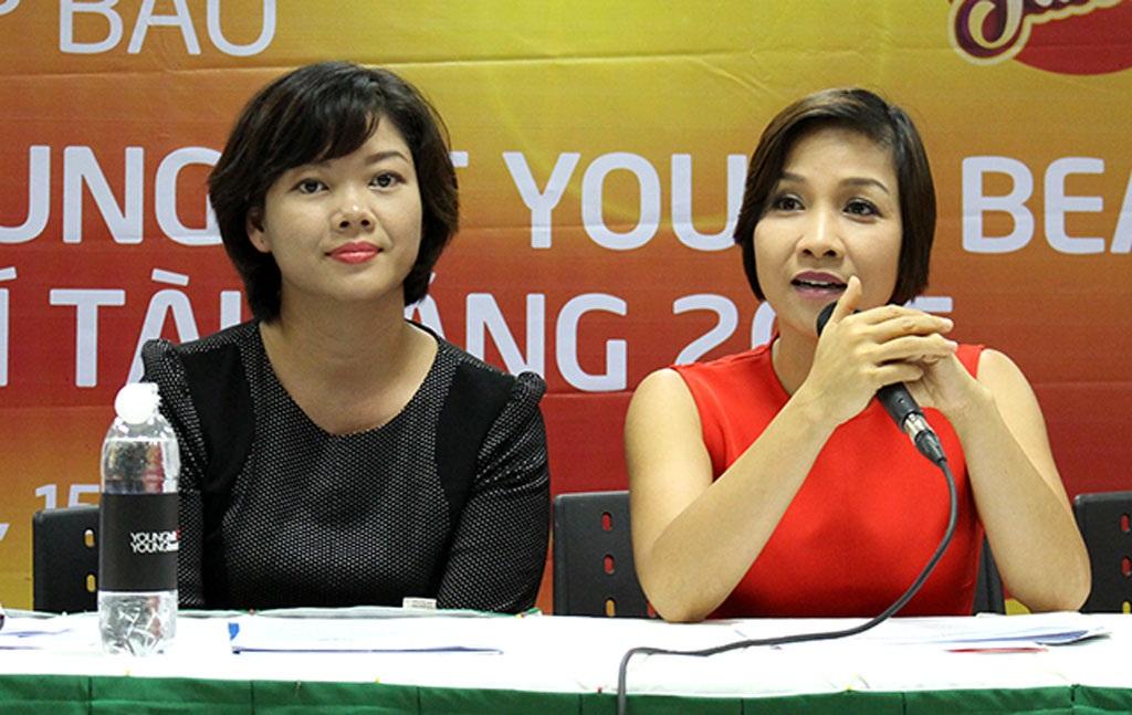 Mỹ Linh hỗ trợ các tài năng nhí Việt Nam