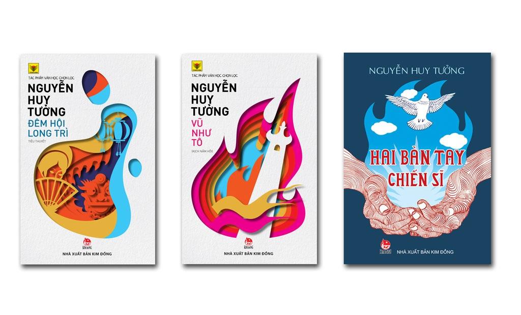 Ba tác phẩm được tái bản của cố nhà văn Nguyễn Huy Tưởng