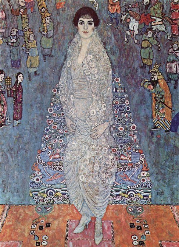 Danh họa Gustav Klimt khắc họa rất nhiều phụ nữ thượng lưu ở thành Vienna, như trong bức tranh này là một cô gái trẻ có tên Elisabeth.