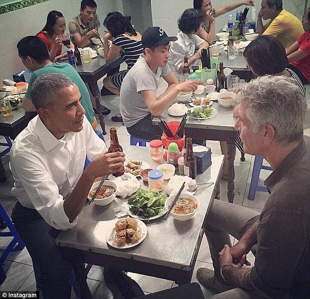 Những câu nói hay nhất của ông Obama trong bữa tối ở quán bún chả - 2