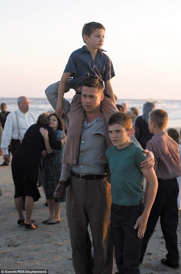 """Brad Pitt từng tham gia diễn xuất trong bộ phim """"The Tree Of Life"""" (Cây đời - 2011) của đạo diễn Terrence Malick."""