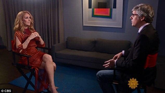 Trong cuộc chuyện trò trên sóng truyền hình Mỹ vào cuối tuần qua, Celine Dion chia sẻ rằng trong tư tưởng của mình cô vẫn nghĩ mình đang là vợ của René Angélil dù hiện tại ông đã đi về thế giới bên kia.