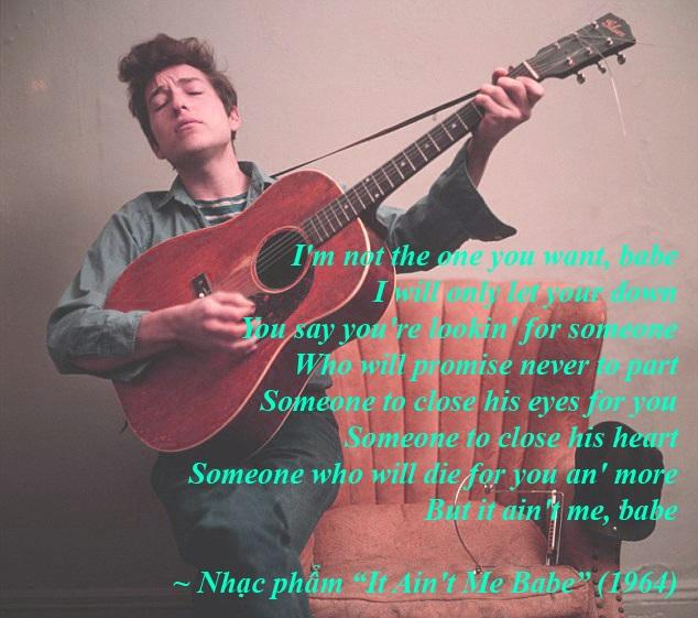 """Đi tìm ý thơ trong lời nhạc của """"nhạc sĩ đoạt Nobel Văn học"""" - 23"""