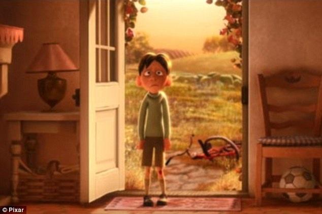 """Trong """"Ratatouille"""", có một cảnh nhân vật Anton Ego sau khi nếm thử một món ăn bỗng nhiên như được trở về tuổi thơ khi còn là một cậu bé (ảnh). Hình ảnh cậu bé với các nét tròn đã cho người xem thấy rằng Anton Ego cũng từng là cậu bé đáng yêu, tốt tính, nhưng quá trình trưởng thành đã khiến nhân vật này trở nên xấu tính."""