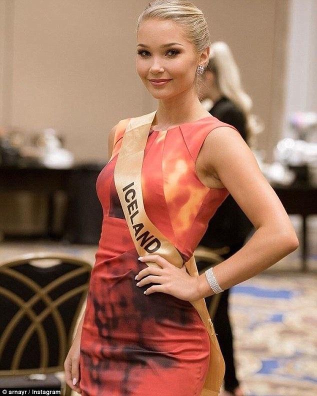 Bị sốc bởi những lời khuyên nên nhịn ăn để nâng cao dáng vóc, Arna Ýr quyết định từ bỏ cuộc thi Miss Grand International.