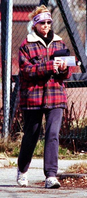 Agnetha Faltskogm lựa chọn cuộc sống ẩn dật trong trang trại. Ảnh chụp năm 1999.