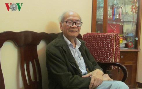 Nhà báo Nguyễn Đình Thanh, công chúng quen thuộc của các chương trình phát thanh và truyền hình.