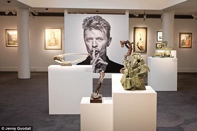 Danh ca David Bowie sinh thời từng là một nghệ sĩ tích cực sưu tầm các tác phẩm nghệ thuật hiện đại.