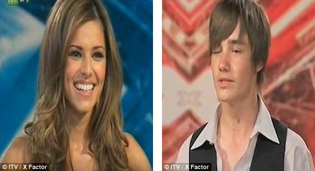 """Lần đầu tiên nữ ca sĩ Cheryl (24 tuổi) gặp Liam Payne (14 tuổi) tại cuộc thi Nhân tố bí ẩn 2008, sau phần thử giọng của Liam, Cheryl nhận xét rằng cô thấy Liam """"rất dễ thương"""", trước đó, """"cậu nhóc"""" đã """"cả gan"""" nháy mắt với đàn chị. 7 năm sau, hai người trở thành một cặp tình nhân gây sốt trong làng giải trí quốc tế."""