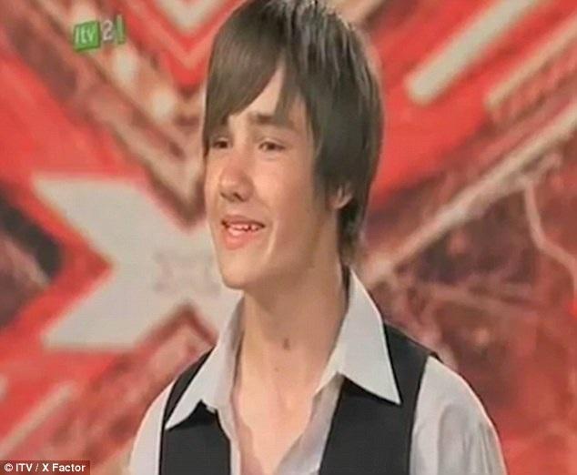 Liam năm 14 tuổi với gương mặt điển trai.
