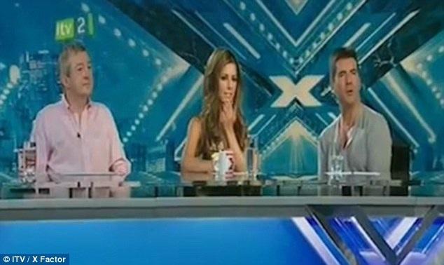 Cheryl lần đầu tiên ngồi ghế giám khảo tại chương trình Nhân tố bí ẩn 2008.