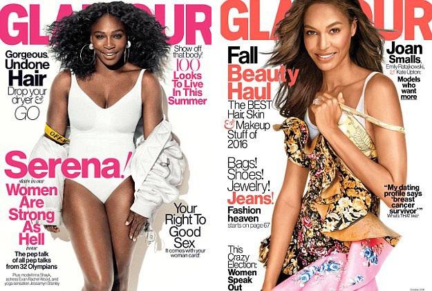 Vẻ đẹp của phụ nữ trong năm 2016 được các tờ tạp chí thời trang nổi tiếng phản ánh đa dạng hơn.