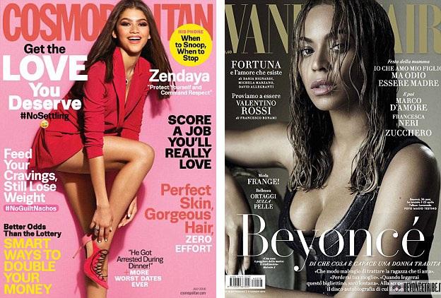 Vẻ đẹp khỏe khoắn, mặn mà của các ngôi sao da màu ngày càng xuất hiện nhiều hơn trên các tờ tạp chí thời trang.