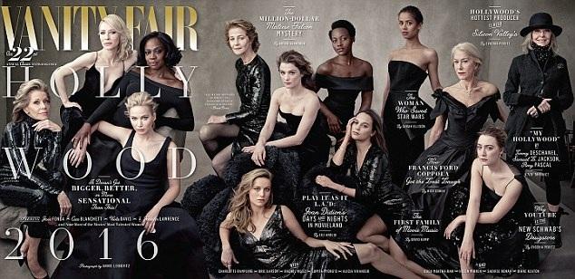 Những ngôi sao gạo cội, những nhan sắc cao niên bắt đầu được các tờ tạp chí thời trang quan tâm hơn.