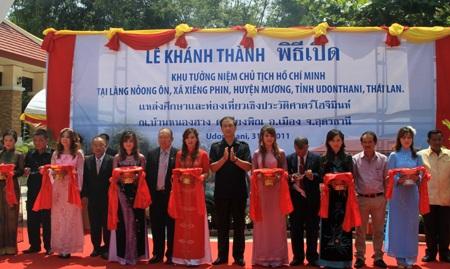 Khánh thành Khu tưởng niệm Chủ tịch Hồ Chí Minh tại Thái Lan  - 2