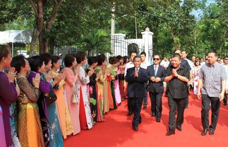 Khánh thành Khu tưởng niệm Chủ tịch Hồ Chí Minh tại Thái Lan  - 1