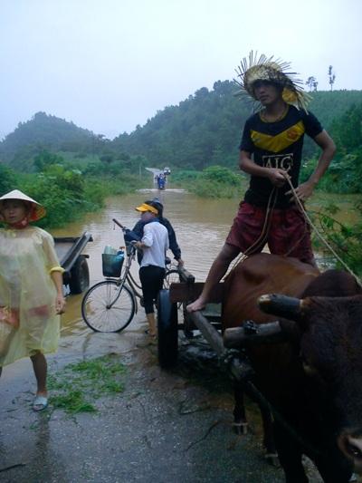 Cận cảnh mưa lũ tàn phá Con Cuông - 11