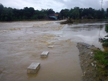Cận cảnh mưa lũ tàn phá Con Cuông - 7