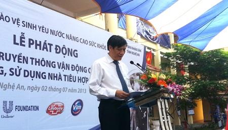 Ông Nguyễn Thanh Long - Thứ trưởng Bộ Y tế cho biết: H