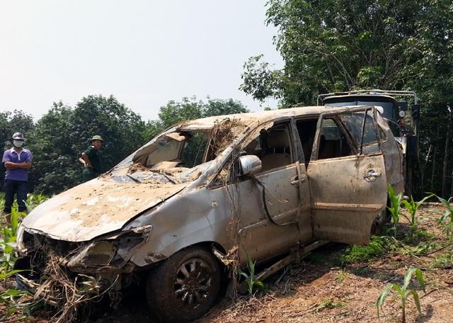 Chiếc xe cùng 5 người chết trong đó đã được tìm thấy ngày 22/9.