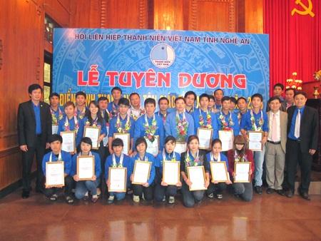 Tuyên dương 31 thanh niên tôn giáo tiêu biểu tỉnh Nghệ An