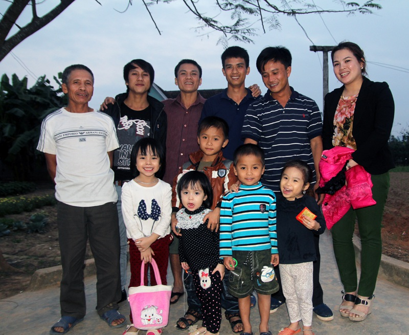 Gia đình là nền tảng của xã hội (Ảnh: Nguyễn Duy).