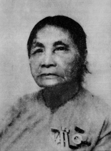 Chân dung Bà Nguyễn Thị Nhuận - người phát hành báo Đảng từ năm 1930 - 1941 (Ảnh: Văn Hiền)