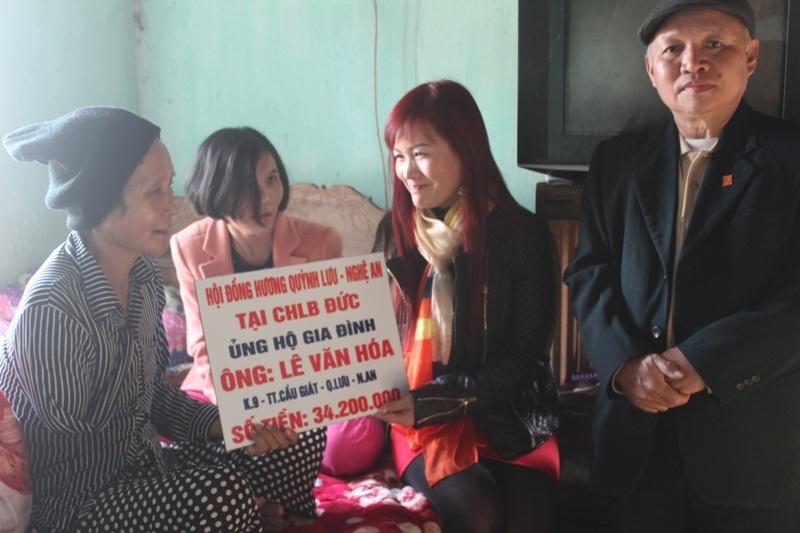 """Hội đồng hương Quỳnh Lưu tại Đức chia sẻ cùng """"Đồng đội ơi, cứu với"""""""