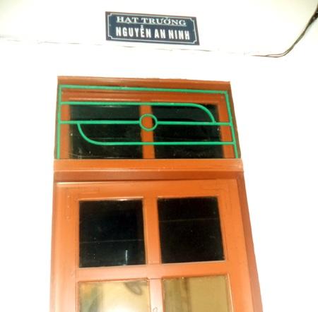 Phòng làm việc ông Ninh đã bị đóng cửa.