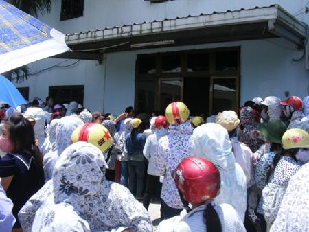 Công nhân Nghệ An lại tiếp tục biểu tình đòi quyền lợi