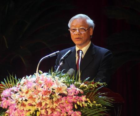 Mít tinh kỷ niệm 110 năm ngày sinh Tổng Bí thư Lê Hồng Phong