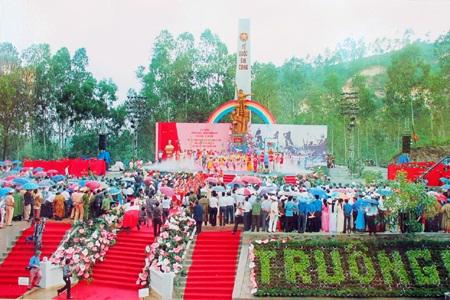 Di tích Truông Bồn trong dịp lễ kỷ niệm 40 năm.