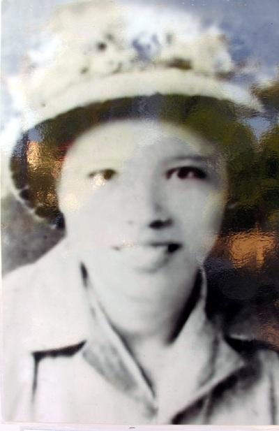 Đồng chí Trần Thị Thông - Tiểu đội trưởng sinh ngày 14/11/1946 năm 1968...
