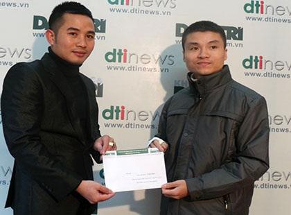 Ông Phạm Tuấn Anh – Phó Tổng biên tập báo điện tử Dân trí(bên phải)