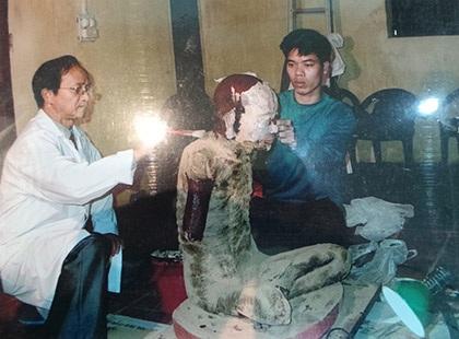 """Hé lộ kỹ thuật ướp xác """"độc nhất vô nhị"""" của người Việt"""