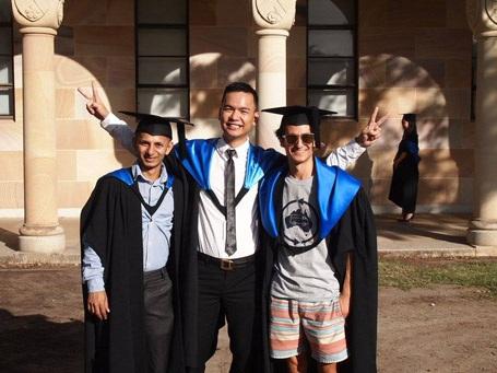 Chàng trai Việt được chọn làm đại sứ ĐH Queensland