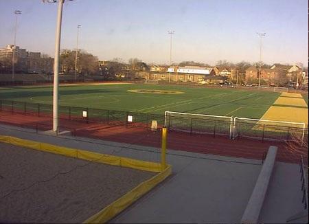 Sân vận động, nơi diễn ra những trận đấu kịch tính trong hai ngày cuối tuần rồi.