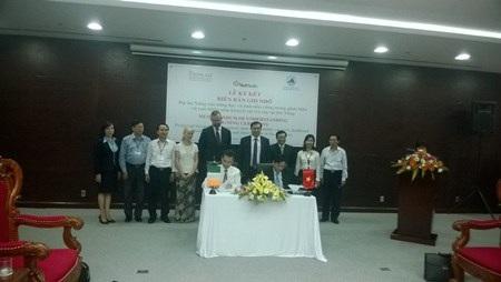 Lễ ký kết biên bản ghi nhớ giữa VietHealth phối hợp với UBND TP Đà Nẵng
