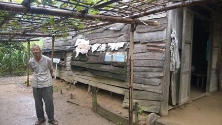 Ông Ngôn trở về nuôi ở cũ, dựng lều để sản xuất