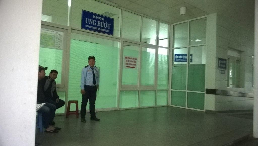 Khoa Ung bướu (Bệnh viện Đà Nẵng) - nơi ông Nguyễn Bá Thanh đang nằm điều trị