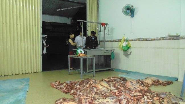 Một cơ sở kinh doanh thịt bò bị xử phạt