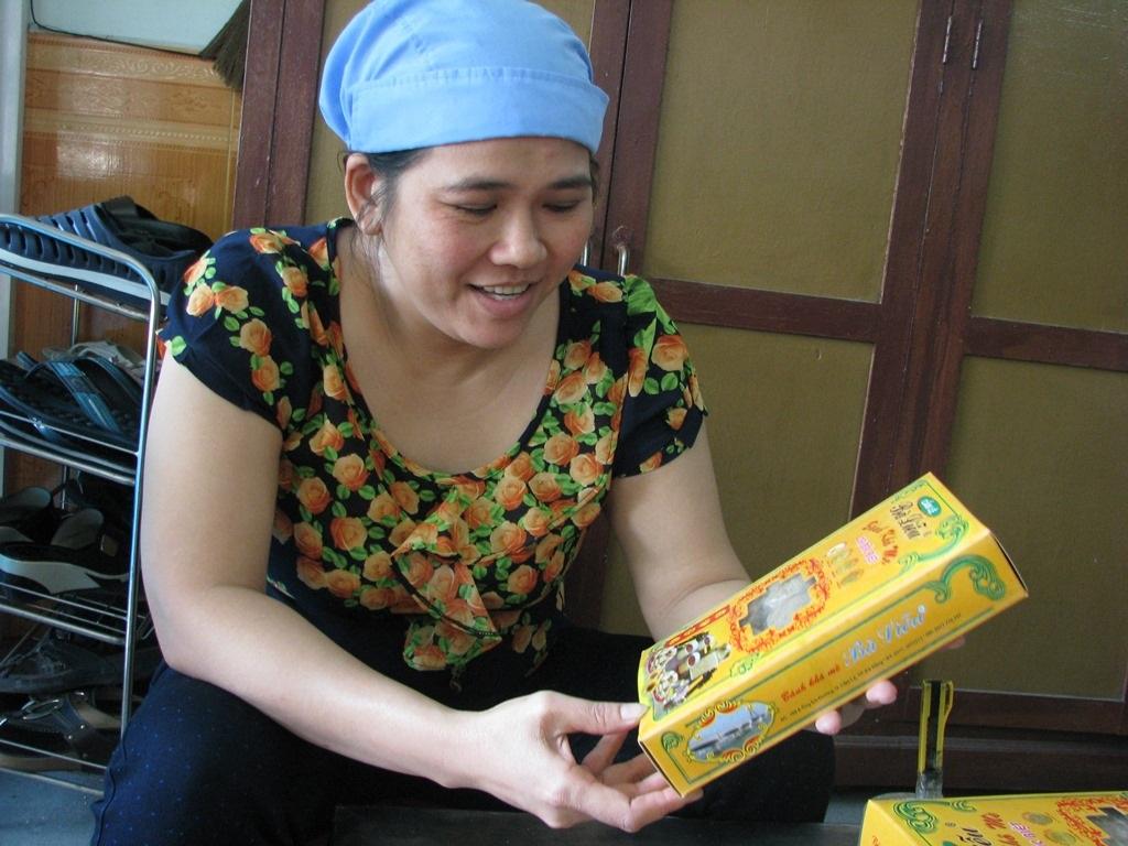 Bánh mè khô bà Liễu được nhiều du khách lựa chọn làm quà cho người thân khi đến Đà Nẵng