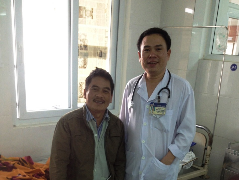 Bệnh nhân Khánh đã hồi phục và đã xuất viện