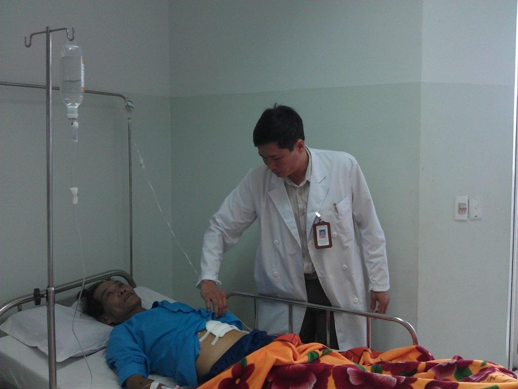 Bệnh nhân C đang dần hồi phục sức khỏe