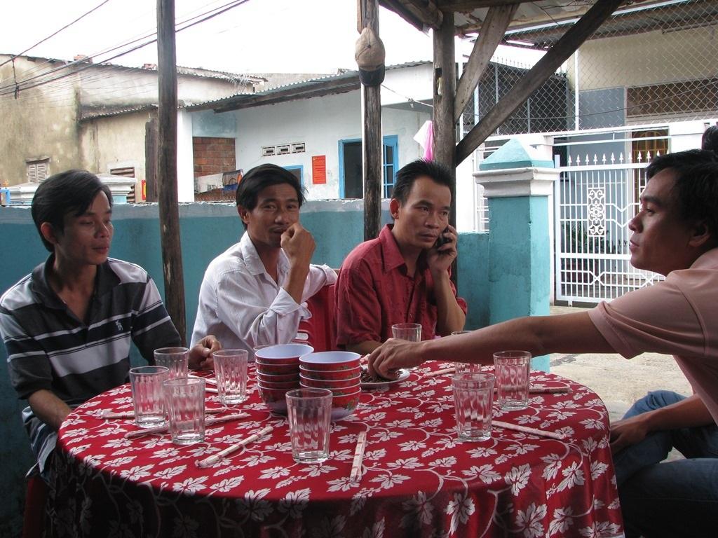 Bốn tổ: 243, 247, 248, 249 (phường Hòa Minh, quận Liên Chiểu) cùng gộp vào tổ chức một chỗ