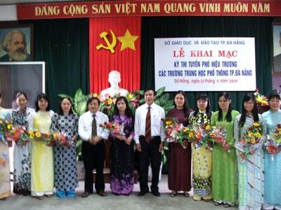 Việc tổ chức thi tuyển chức danh lãnh đạo được Đà Nẵng tổ chức trong nhiều năm qua