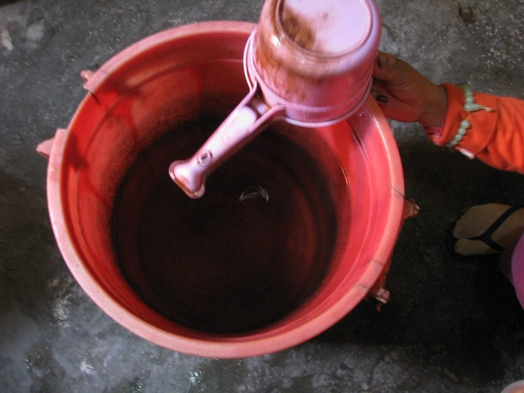 Trong đó phần lớn là nước bị nhiễm phèn
